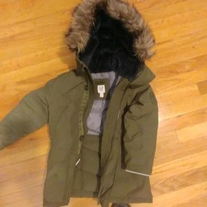 Gap parka coat